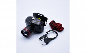 Lanterna Frontala Cu Acumulator, Led, Zoom glisabil