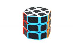 Cub Rubik 3x3x3 Octagonal JuXing, Fibra de carbon, 229CUB