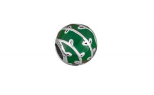 Charm argint 925 Green twing