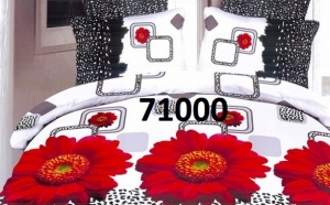 Lenjerie de pat 3D Premium, la 99 RON in loc de 229 RON