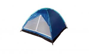 Cort camping 3 persoane 200x200x130 cm