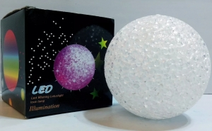 Set 2 x lampa LED decorativa - tip sfera, Cadouri Craciun, Persoana iubita
