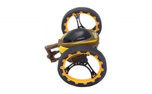 Masina Bounce Car Jumping Stunter Yellow
