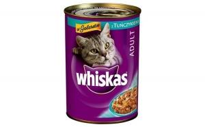 Hrana umeda pentru pisici Whiskas, Ton, 400g