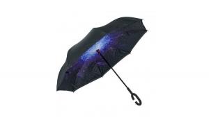 Umbrela reversibila cu model galactic,