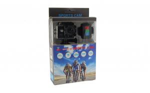 Camera SportsCam 12MP, Waterproof, full HD 1080P, conectivitate WiFi cu aplicatia dedicata + Bratara telecomanda cu accesorii