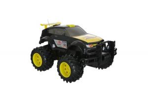 Masina cu telecomanda de teren off road negru cu galben , cu miscare fata si spate, dreapta si stanga , frana