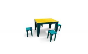 Masa cu scaune pentru gradina