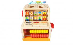 Centru activitati Montessori 5 in 1