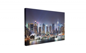 Tablou Canvas NYC Times Square, 50 x 70 cm, 100% Poliester