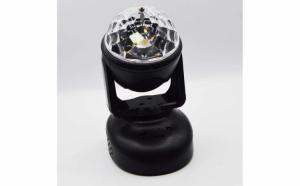 Glob cu lumini Party Light, RGB, Mp3 player, telecomanda