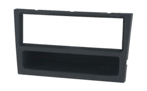 Rama adaptoare Opel, charcoal-rubber-touch, 1DIN, ACV - 000260