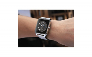 Ceas Smartwatch Techstar® Z60 Silver  Cartela SIM  1.54 inch  Apelare  Radio FM  Alerte  Sedentarism  Hidratare  Bluetooth 4.0