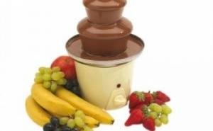Un cadou dulce:  Mini fantana de ciocolata, la 89 RON de la 199 RON