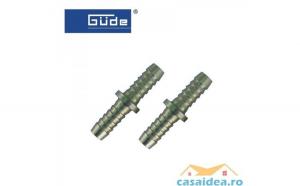 Conectori pentru cuplare furtun 9mm  2 buc   GUEDE 41036