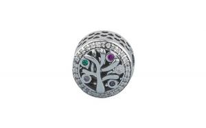 Charm argint 925 Family tree