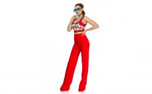 Pantaloni Kitt Red