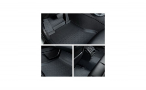 Covorase presuri cauciuc Premium stil tavita Ford Focus 2 2004-2011