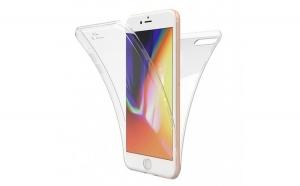 Husa Apple iPhone 7 Plus Flippy Full Tpu 360 V2 Transparent