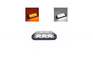 Stroboscop profesional LED DuaLColor N3 12v-24v Galben/Alb