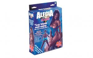 Alecia King PVC screening black Doll
