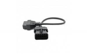 Cablu adaptor Opel / Vauxhall  10 Pin la OBD2 16 Pin