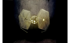 Lampa LED 3D Star Wars TIE FIGHTER
