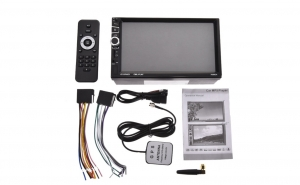 MP5 Player Auto 2DIN  TouchScreen, Wi-Fi, Android, GPS, 1 GB DDR, 16 GB Memorie Interna