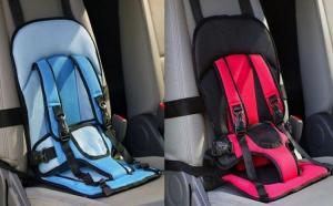 Suport siguranta auto pentru copii, cu prindere in 4 puncte si siguranta tripla