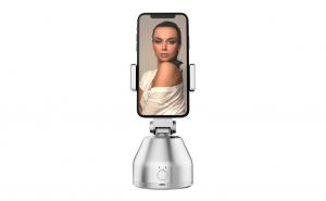 Suport cu sistem de stabilizare Souing Genie 360°, Face recognition & AI Object tracking, Alb