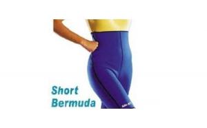 Colanti Short Bermuda cu doua fete - pentru slabit