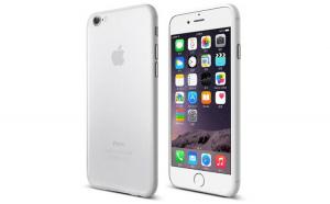 Husa ultra subtire, Apple iPhone 7 Plus, Alb