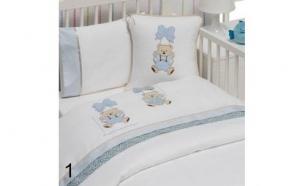Set lenjerie de pat pentru bebelusi cu paturica - Gelin Home, laa 299 RON in loc de 600 RON