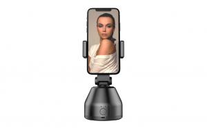 Suport cu sistem de stabilizare Souing Genie 360°, Face recognition & AI Object tracking, Negru