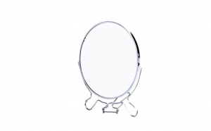 Oglinda rotunda pentru makeup, cu lupa