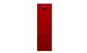 Combina frigorifica Beko RCNA400E20ZGR  347 l  Clasa A   H 201  Iluminare Led  Sticla rosie