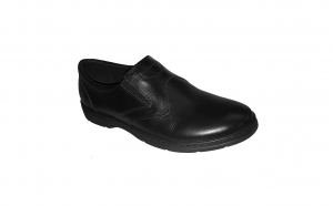 Pantofi usori si lati din piele naturala, talpa EPA, made in Romania