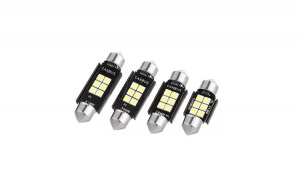 Set 2 leduri sofit 39mm canbus 6 smd