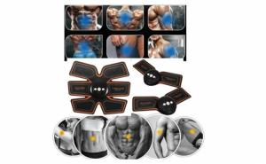 Aparat fitness ABS Fit Training Gear, pentru abdomen si antrenamentul bratelor, taliei si picioarelor