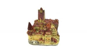 Macheta - Castelul Bran  10.5x10.5 cm