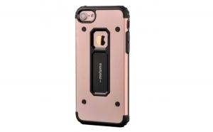 Husa Apple iPhone 7 Plus Motomo Armor Roz-Auriu