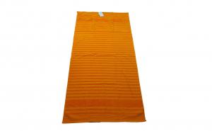 Prosop plaja - 90x170 cm, dungi portocalii