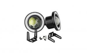 Set 2 proiectoare LED lupa si Angel 76mm