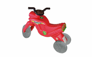 Tricicleta rosie fara pedale
