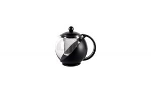 Ceainic cu infuzor, 750 ml, negru