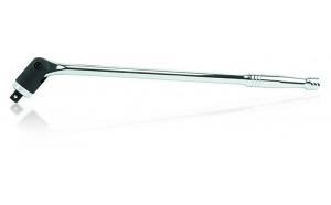 Cheie tubulara 1 2   cu clichet si cap flexibil 460mm Toptul