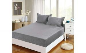 Husa pat cu Elastic din Bumbac Frotir