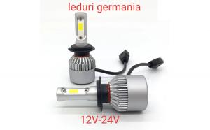 leduri germania H4 12v-24v 60W 6400 LM