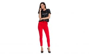 Pantaloni Chaby Red