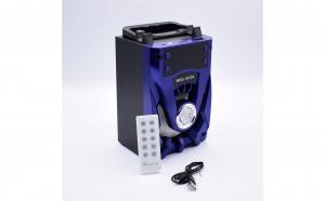 Boxa Portabila Cu MP3, TF/USB, Bluetooth, Telecomanda, Radio FM, Big Sound WKS-1070A